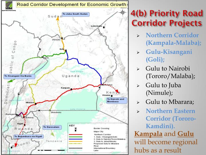 4(b) Priority Road Corridor Projects