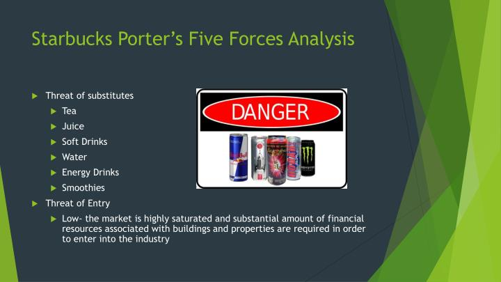 porter s 5 forces analysis for starbucks View notes - five forces analysis example - starbucks from introducti 13 at far eastern university businessmahagement starbucks coffee's five forces analysis (porter's model) updated sep' 10.