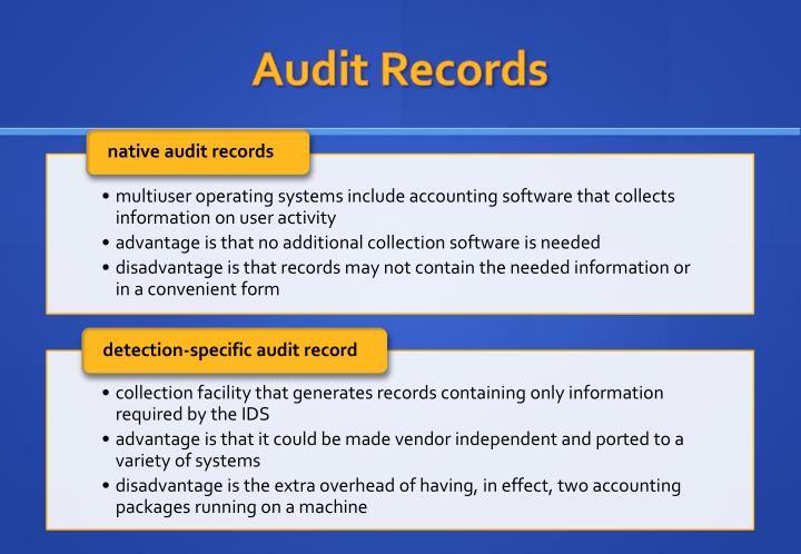 Audit Records