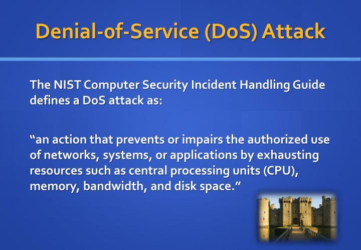 Denial 0f service dos attack