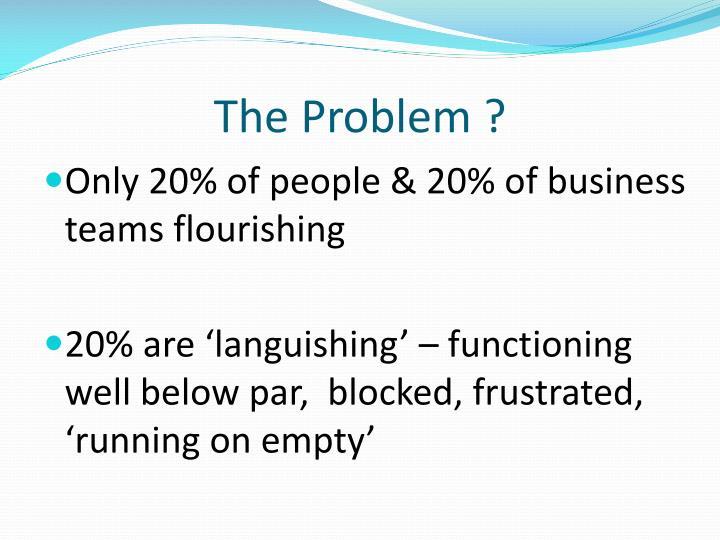 The Problem ?