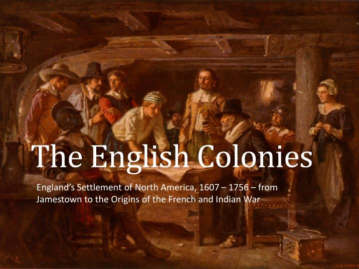 the english colonies n.