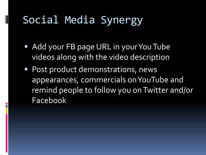 Social Media Synergy