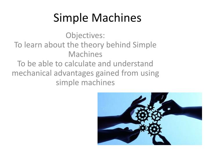 simple machines n.