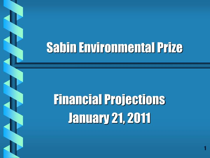 financial projections january 21 2011 n.