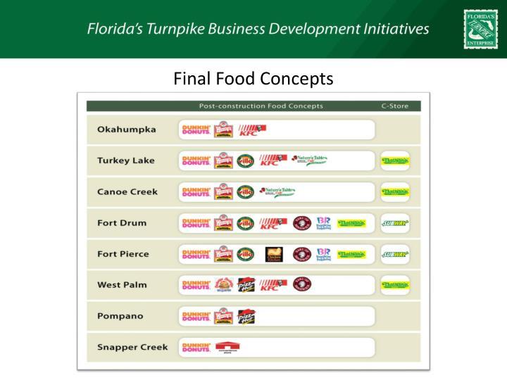 Final Food Concepts