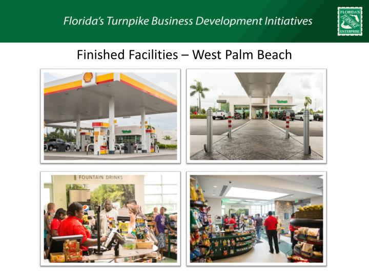 Finished Facilities – West Palm Beach