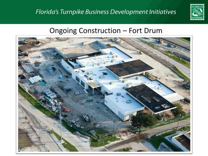 Ongoing Construction – Fort Drum