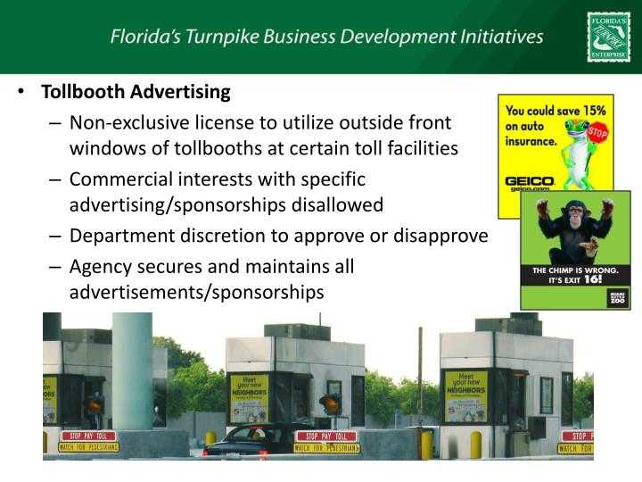 Tollbooth Advertising