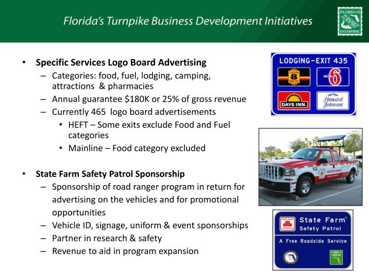 Specific Services Logo Board Advertising