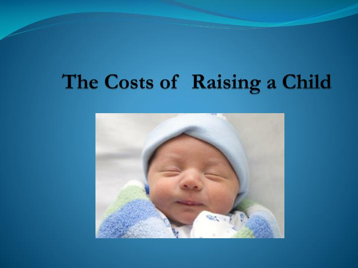 the costs of raising a child n.