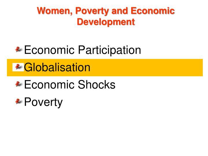Women, Poverty and Economic Development