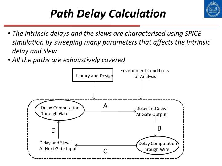 Path Delay Calculation