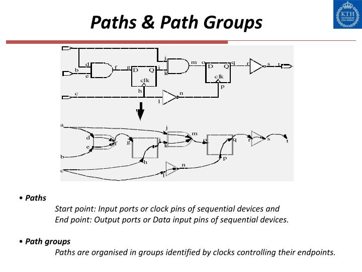 Paths & Path Groups