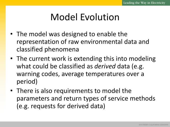 Model Evolution