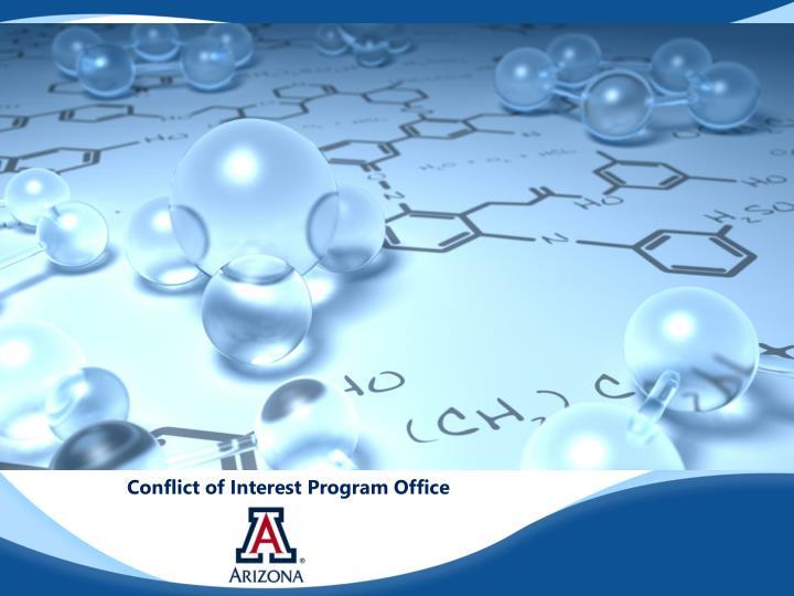 Conflict of Interest Program Office