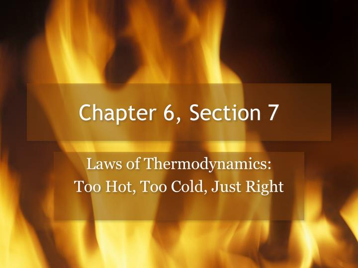 Chapter 6 section 7