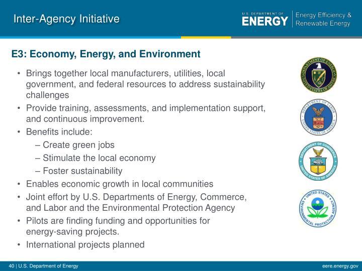 Inter-Agency Initiative