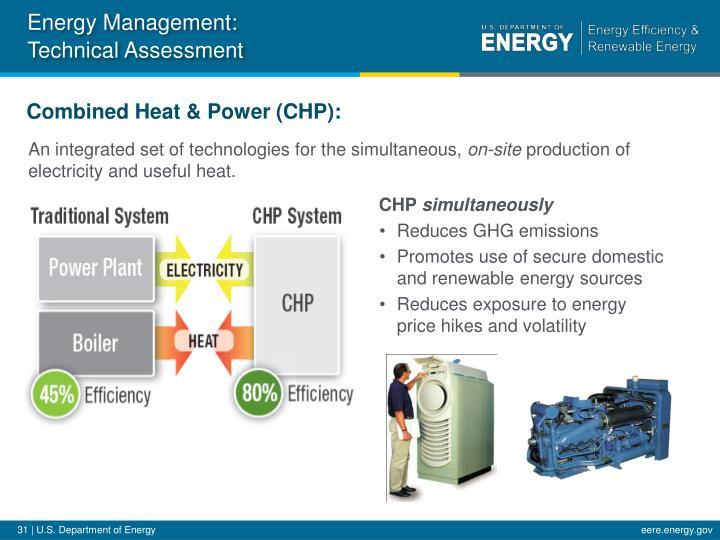 Energy Management: Technical Assessment
