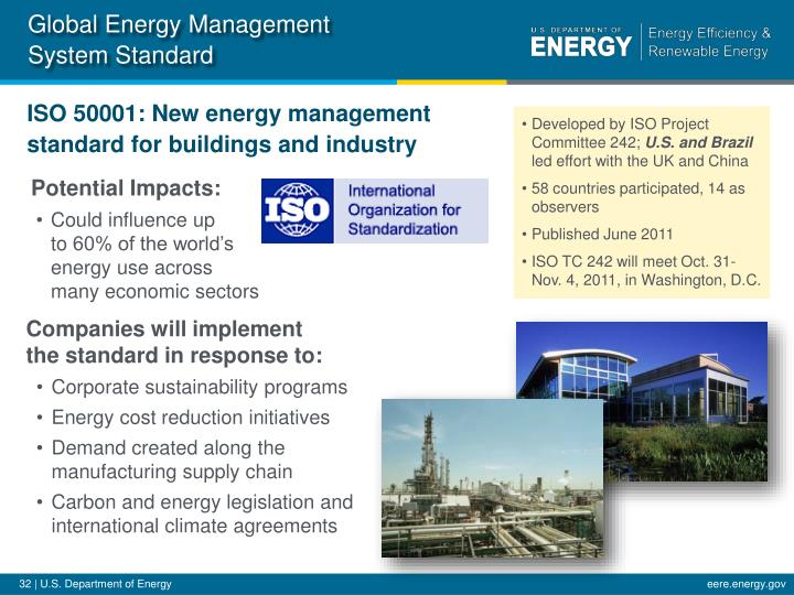 Global Energy Management System Standard