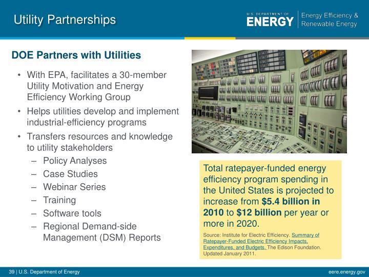 Utility Partnerships