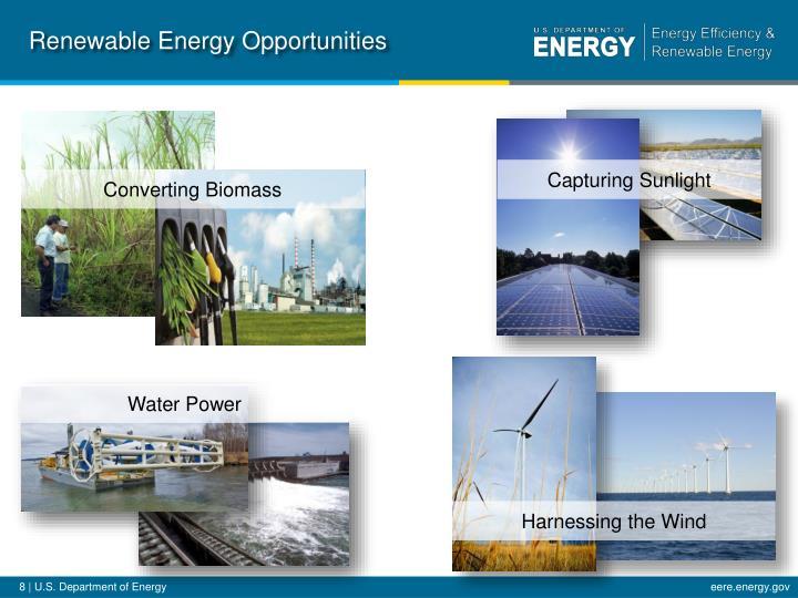 Renewable Energy Opportunities