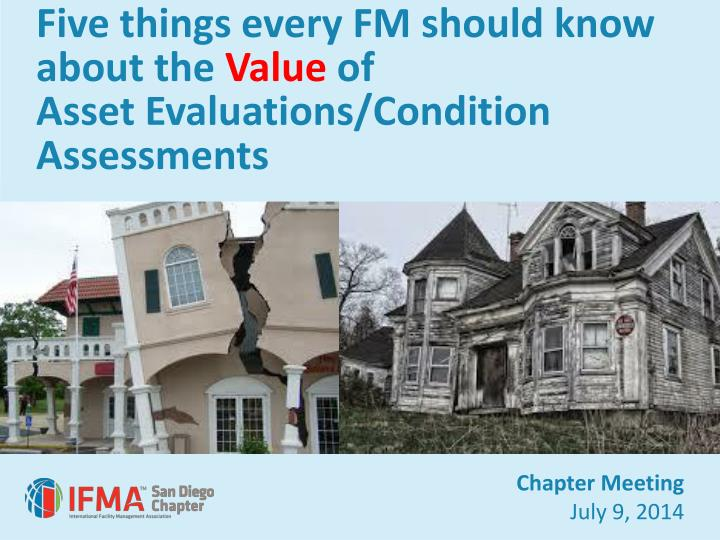 Five things every FM should know about the