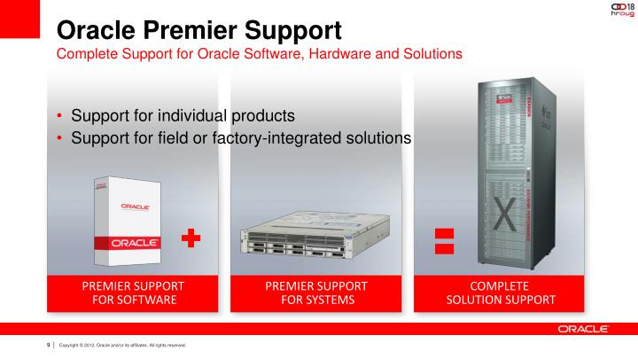Oracle Premier Support