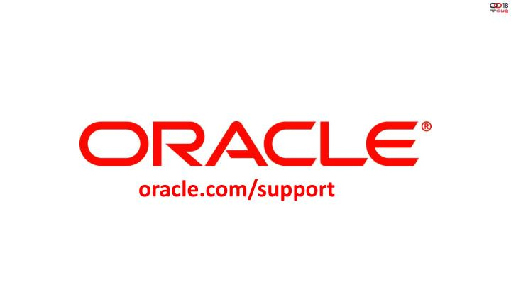 oracle.com/support