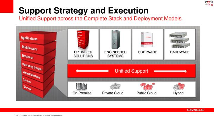 Support Strategy and Execution