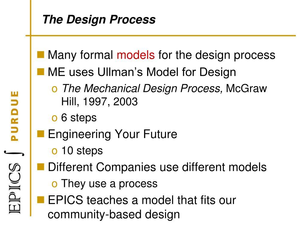Mechanical Design Process Steps Goser Vtngcf Org