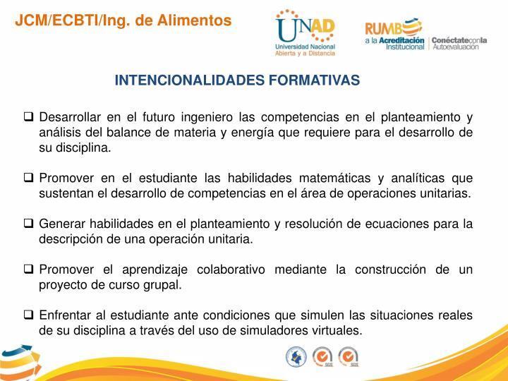 JCM/ECBTI/Ing. de Alimentos