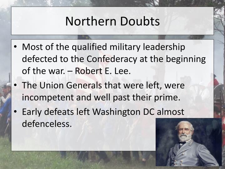 Northern Doubts