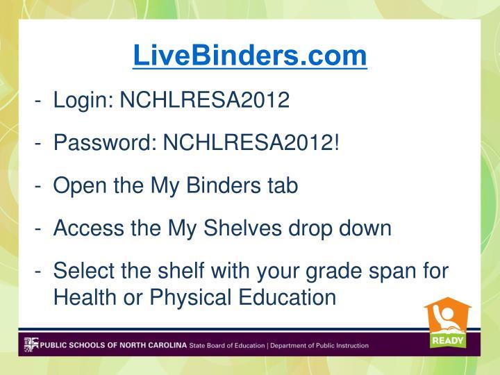 LiveBinders.com