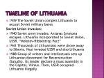 timeline of lithuania1