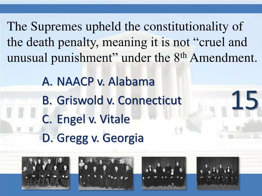 PPT - SUPREME COURT CASES PowerPoint Presentation - ID:3075101