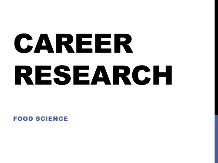 career research n.