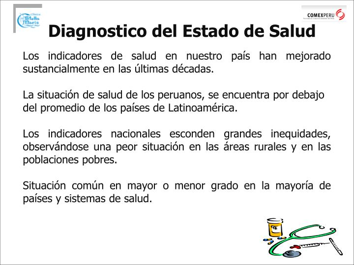 Diagnostico del Estado de Salud