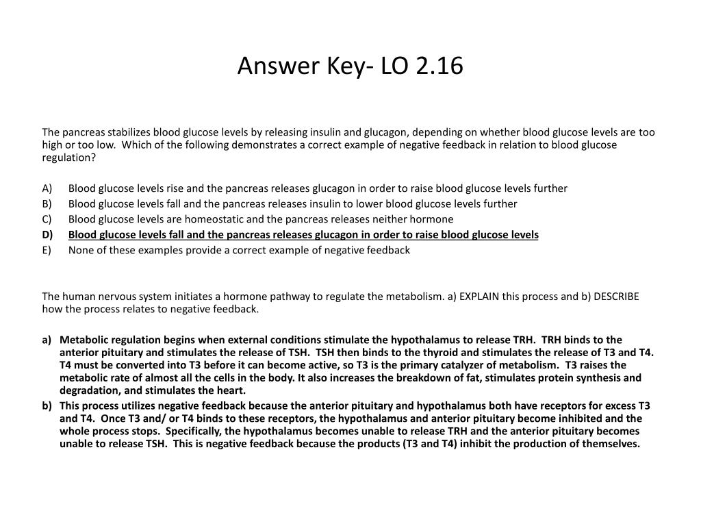 PPT - Answer Key- LO 2 3 PowerPoint Presentation - ID:3075453