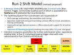 run 2 shift model revised proposal
