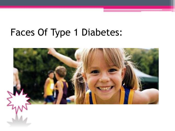 Faces Of Type 1 Diabetes: