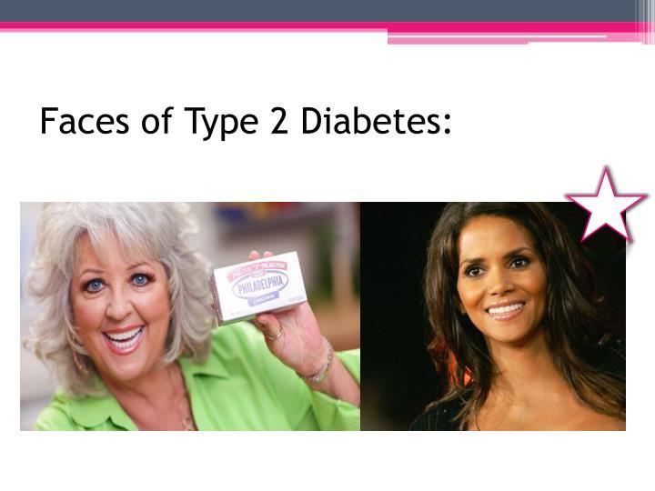 Faces of Type 2 Diabetes: