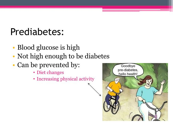 Prediabetes: