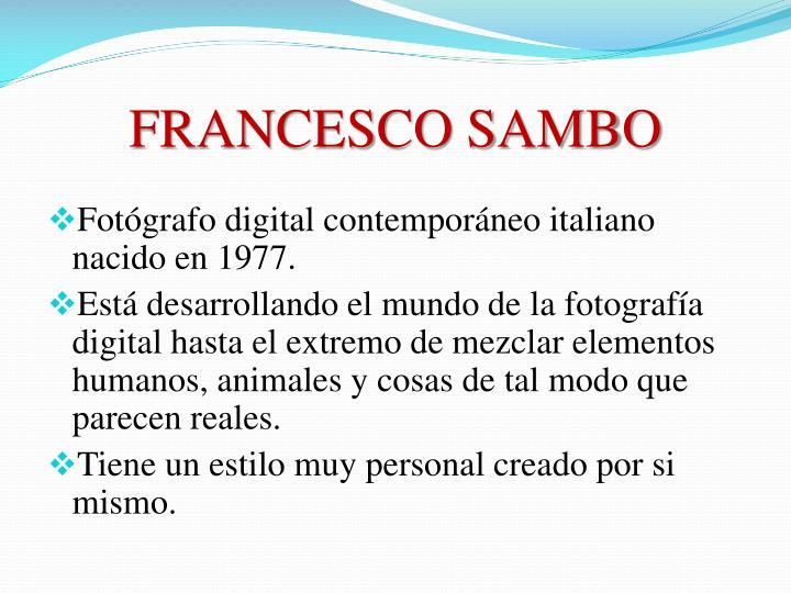 FRANCESCO SAMBO