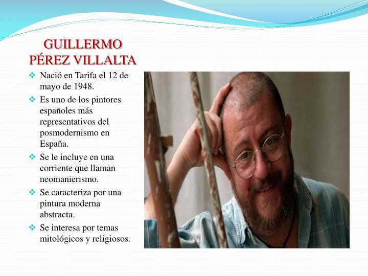 GUILLERMO PÉREZ VILLALTA
