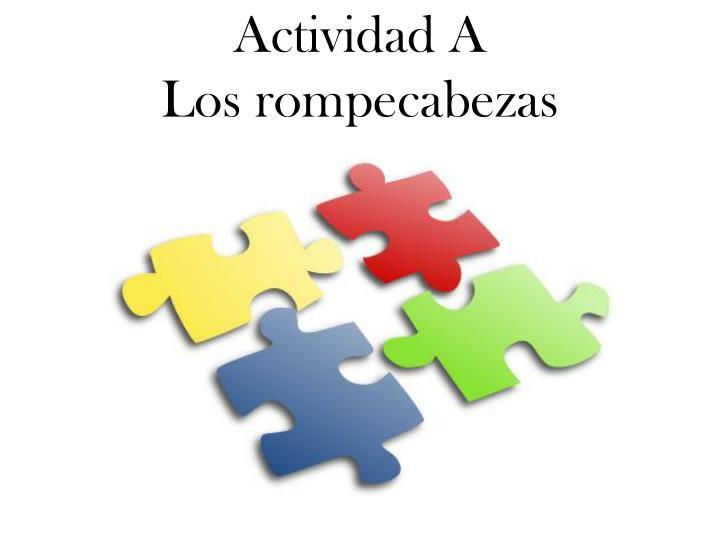 Actividad A