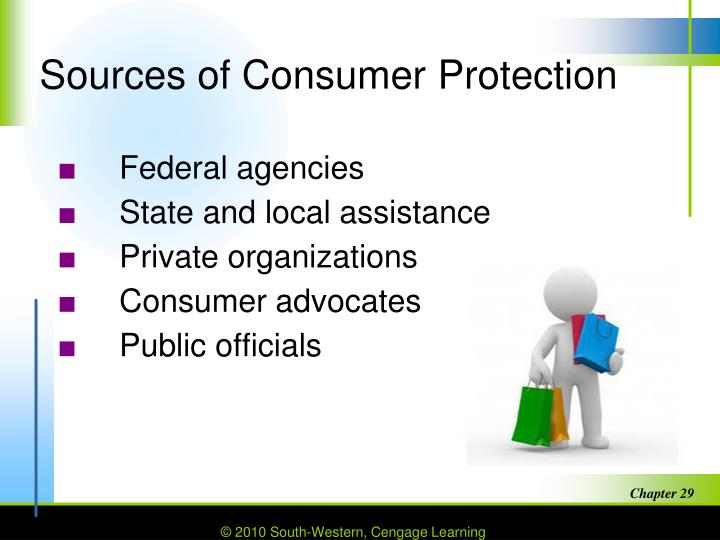 Sources of Consumer Protection