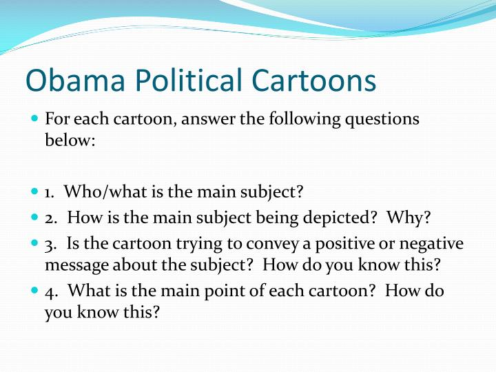 Obama Political Cartoons