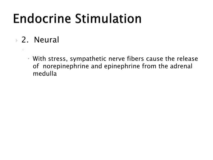 Endocrine Stimulation