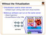 without the virtualization1